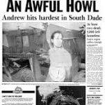 Hurricane Andrew - an Awful Howl