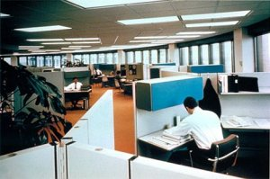 Real Estate Office Cubicles
