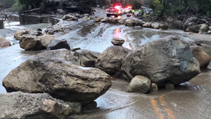 Santa Barbara Mudslide 2018