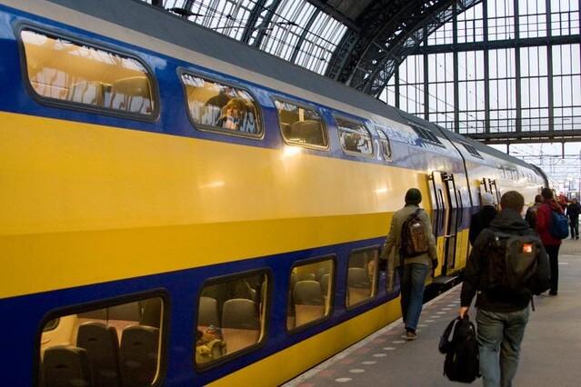 The Train into Rotterdam